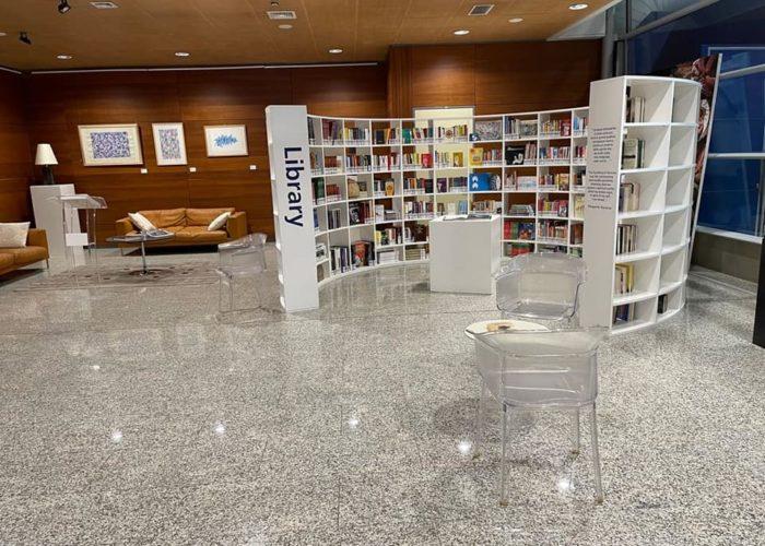 Cagliari Airport Library