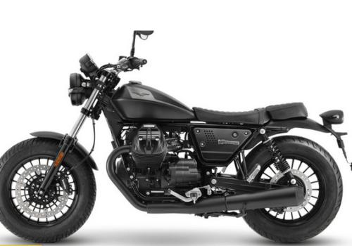 Moto Guzzi V9 2021, stile dark